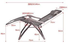 deck chair zero gravity recliner chair