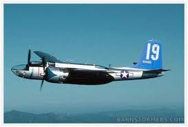 Barn Stormers Com Spotted For Sale 4 000 Hp Douglas A 26 Invader Budget Priced