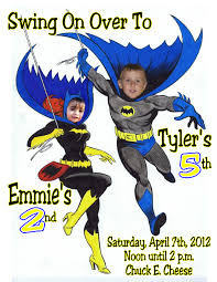 batman and robin birthday invitations image collections