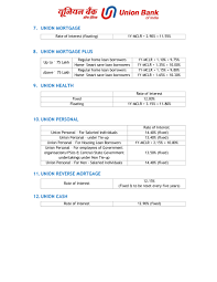 home loan union bank of india 2017 2018 eduvark