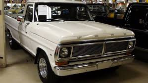 Old Ford Truck Bumpers - 1972 ford f100 show truck 351w extremely clean youtube