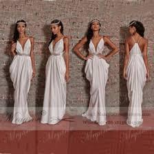 Greek Style Wedding Dresses Where To Find Best Greek Style White Gold Dress Online Best Panel