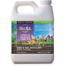 bio si lawn and garden plus humic acid 16 fl oz organic seed and