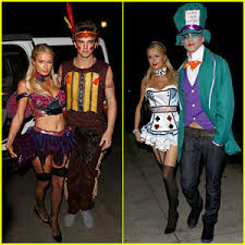 Hugh Hefner Halloween Costume Paris Hilton U0026 River Viiperi Halloween Party Pair 2012