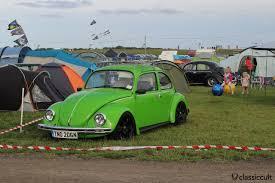 green volkswagen beetle bug jam vw fest 2015 santa pod classiccult