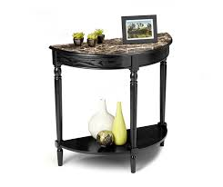Black Entryway Table Convenience Concepts M6042182 Country Entryway