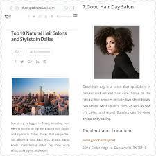 natural hair cuts dallas tx social networks