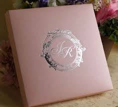 box wedding invitations color silk box wedding invitation with flower rhinestone