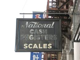 the painted store signs of the bowery ephemeral york