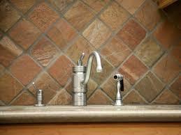 slate tile backsplash corner cabinet hardware room perfect