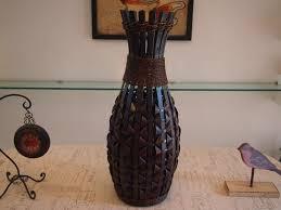 classic large floor bamboo vase fashion home big craft antique