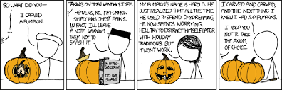 xkcd pumpkin carving