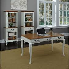 Computer Desk Styles Home Styles Distressed Oak And Rubbed White Desk 5518 15 The