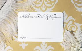 Marriage Advice Cards For Wedding Marriage Advice Cards Wedding Advice Cards