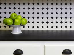 remarkable black and white kitchen tile ideas decorating