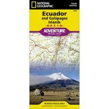 Galapagos Map Ecuador And Galapagos Islands Adventure Map National Geographic