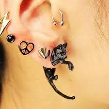 men stud earrings leopard stud earrings earrings for men women buy leopard