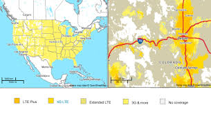 Internet Coverage Map What Are The Coverage Maps For U S Carriers Android Central