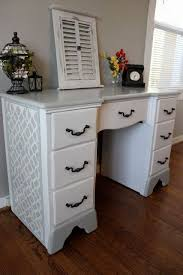 Desk Refinishing Ideas Best 25 Repainted Desk Ideas On Pinterest Grey Kids Bedroom