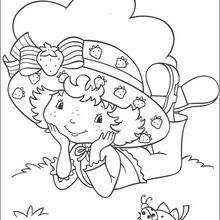 strawberry shortcake coloring pages 30 toy dolls