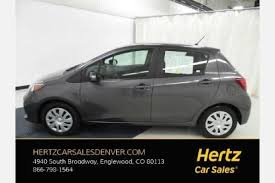 toyota yaris for sale used toyota yaris for sale in denver co edmunds