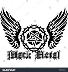 gothic coat arms pentagram wings grungevintage stock vector gothic coat of arms with pentagram and wings grunge vintage design t shirts