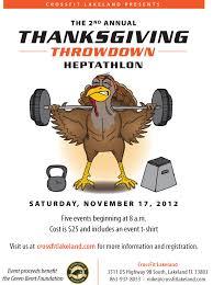 thanksgiving throwdown registration open crossfit lakeland