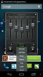 music volume eq u2013 ersatz für den android equalizer android apps
