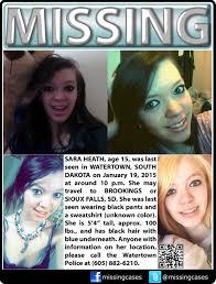 South Dakota travel safe images Found safe 1 21 15 yay 1 19 2015 sara heath age 15 is jpg