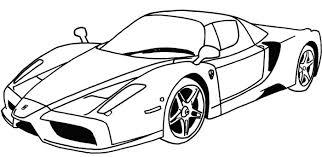 Coloring Pages Car Ferrari Sport Car Coloring Page Vitlt Com Colouring Pages Of Cars