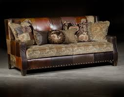 sofa patchwork custom patchwork leather cowhide sofa city creek furniture