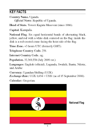 Country Code Flags Marine Corps Intelligence Activity Uganda Country Handbook