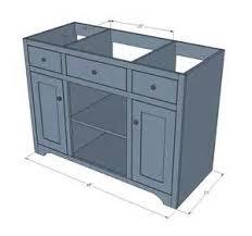 Build Your Own Bathroom Vanity Cabinet - bathroom vanity diy project bathroom pinterest simple bathroom