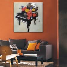 Home Decoration Painting by Hand Painted Oil Wall Art Abstract Painting Modern Home Decoration