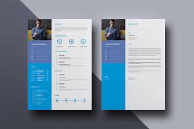 Single Page Resume Template Clean Resume Template Creative Resume Cv Design One Page Resume