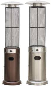 gas patio heaters round flame outdoor gas heater patio gas heater com