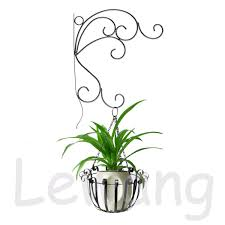 Metal Wall Planter by Metal Wall Hanging Pot Planter Basket Bracket Patio Garden Outdoor