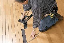 brilliant installing wood floors wood floor wisdom nail glue or