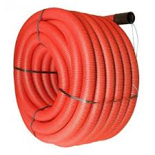 twinwall electric cable ducting underground ducting drain depot