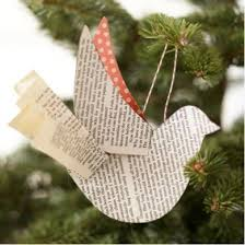 diy paper bird ornament free template create with handmade
