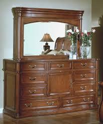 Mirror Dressers Signature Home Washington Dresser With Hideaway Mirror Tv Hutch