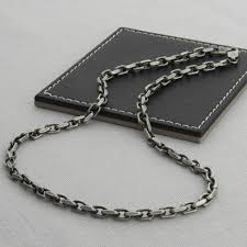mens necklace style images Mens silver anchor chain style necklace custom jewellery by all jpg