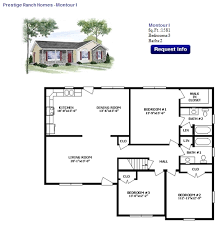 ranch floor plan options showcase homes of maine bangor me