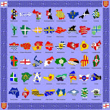 Scotland Flags The Counties And Flags Of England By Golborne Identity On Deviantart