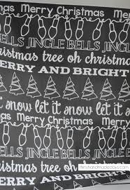 chalkboard wrapping paper chalkboard christmas wrapping paper