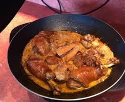 cuisiner un coq au four coq au riesling recette de coq au riesling marmiton