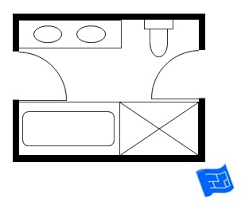 Jack And Jill Bathroom Floor Plans - Designing a bathroom floor plan