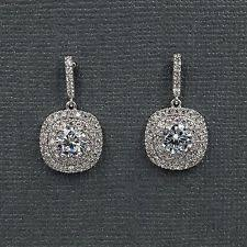 wedding earrings drop bridal drop earrings ebay
