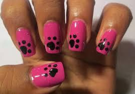 paw nail art choice image nail art designs