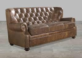 Brompton Leather Sofa Brompton Leather Vintage Sofa